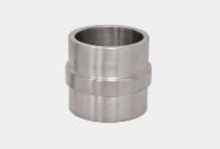 38 mm round pipe connector stainless steel 304 glossy df bl acc