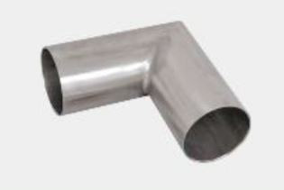 50 mm round pipe connector stainless steel 304 glossy df bl acc