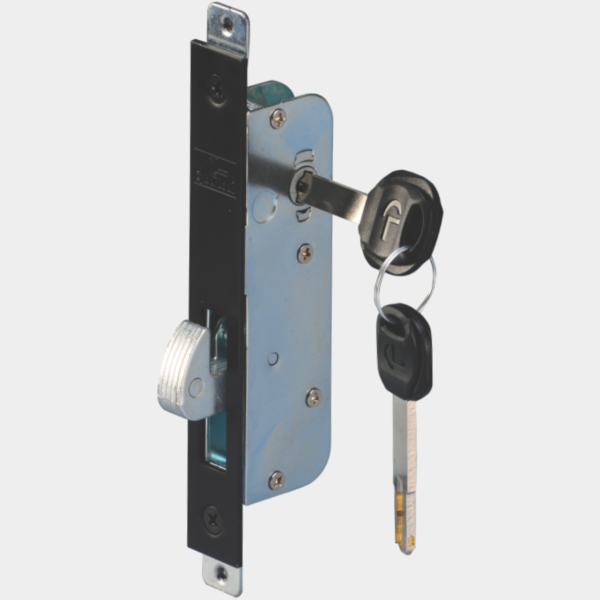 Sliding Door Lock 2 Way Key Nickel Plated Sldl A22